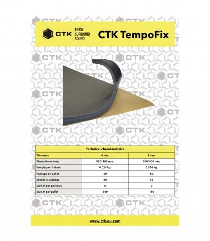 CTK TEMPOFIX 4mm 30 Unidades