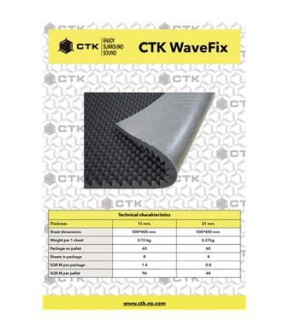 CTK WaveFix 15mm 8 Unidades